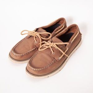 Sperry Top-Sider LEEWARD Boys Boat Shoes Size 4